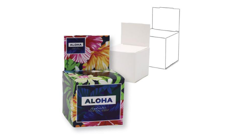 aloha box package design by norka inc